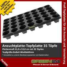 Topfplatte 35 Töpfe Anzucht-Töpfe Topf-Paletten Anzucht-Paletten Multitopf