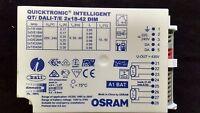 1 x OSRAM Quicktronic Intelligente QTi DALI-T/E 2 x 18W 42W