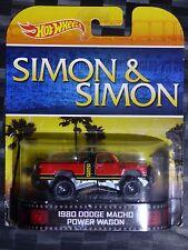 2014 HOTWHEELS - Retro entertainment A - SIMON & SIMON Dodge Power Wagon