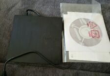 New listing Samsung Ultra Thin Portable Dvd Writer Se-218 with manual and Cd Free shipping