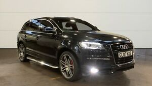 08 AUDI Q7 3.0 TDI QUATTRO S LINE, PRIVACY GLASS, CLIMATE CONTROL, LEATHER TRIM.