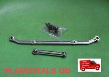 De Aluminio Cnc actualización dirección enlace del brazo para AXIAL AX10 Scx10 Plata L29