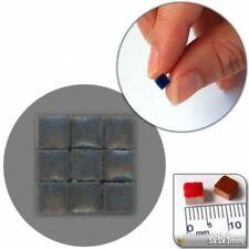 Mini Mosaïque (5x5x3mm), 5000 tesselles, Gris anthracite, WMS1