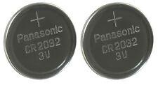 Panasonic CR2032 Battery 2 Pack Lithium Coin Cell 3V Battery Pack Brand New