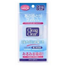 Clean & Clear CNC Facial Oil Absorbing Blotting Paper 60 Sheets NEW