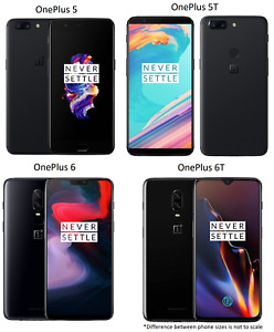 OnePlus 5 / 5T or 6 / 6T - (64-256GB) AT&T T-Mobile OR GSM Unlocked Smartphone