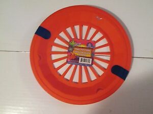 New Colorful Paper Plate Holders (Set of 4) Picnic BBQ Camping Luau-Dark Pink