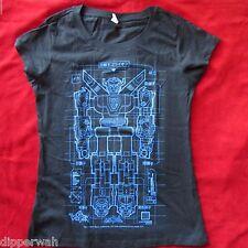 Loot Crate Original Lotus Tee Jan 2015 Voltron Womens T-shirt Size L Nwot