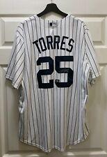 Gleyber Torres #25 Signed Yankees Jersey Autographed AUTO Sz XL MLB Hologram