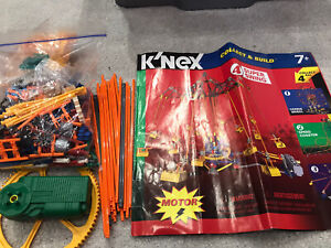 Knex Motorised Super Swing with Instructions.