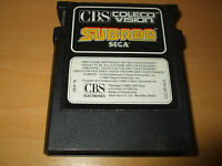 SUBROC 1983 PAL Coleco vision Game     / FREE UK P&P