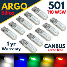 T10 CAR BULBS LED ERROR FREE CANBUS COB SMD XENON WHITE W5W 501 SIDE LIGHT BULB