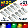 T10 CAR 501 LED SIDE LIGHT BULBS ERROR FREE CANBUS COB SMD XENON WHITE W5W BULB