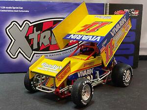 Action #11 Vivarin Stevie Smith 2002 Sprint Car Xtreme 1/24 Diecast 1/2,856