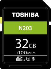 TOSHIBA U1 SD 100MB/s Read 32 GB CLASS 10 FLASH MEMORY CARD NEW st