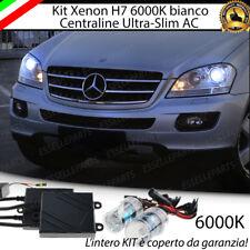 KIT XENON XENO H7 AC 6000K CANBUS MERCEDES ML W164 100% NO ERROR