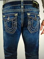 TRUE RELIGION RICKY SUPER T MEN JEAN CPPM DAY SHADOWS M859NU06 NWT 38W $369 USA