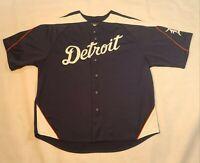 Detroit Tigers Majestic Jersey Size Mens 2XL MLB Ordonez