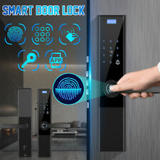 Home Intelligent Fingerprint Door Lock Fingerprint/Password/Swipe/Key/APP 5in 1