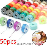 Multicolor Thread Spools Sewing Machine Bobbins Thread Embroidery  Accessor YK