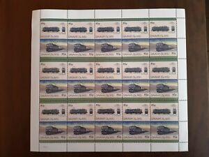 Davaar island Locomotives Full list of 30 stamps MiNH