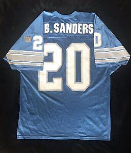 Wilson Authentic Detroit Lions Barry Sanders Size (50) XL