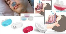 2 in 1 Anti Snoring And Air Purifier Free Magnetic Silicone Stopper Sleep Device