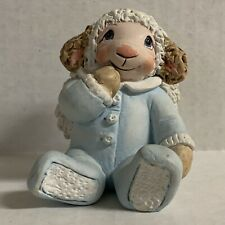 Dreamsicles Heavenly Critters Figurine Lamb 12110 Angel In Pajamas 2002