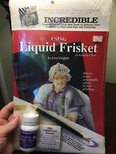 Grafix - Using Liquid Brisket by Jerry Griffith w/ 2.0 fl oz bottle of frisket