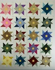 Friendship Star Quilt Blocks 20 in the Set - Quilt, Pillows, Tops, Wall Hanging