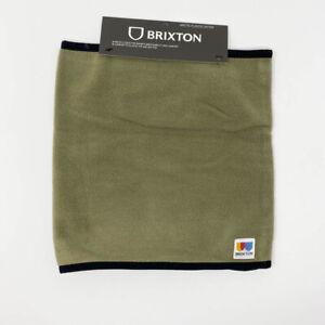 Brixton Mens Arctic Fleece Gaiter OS Green Outdoor Activewear Warm New NWT