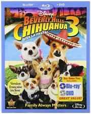 BEVERLY HILLS CHIHUAHUA 3 VIVA LA FIESTA New Sealed Blu-ray + DVD