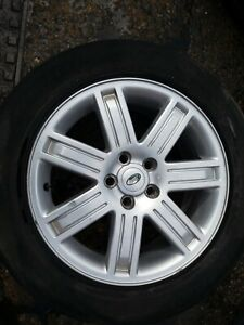 """LAND ROVER Discovery Range Rover Sport ALLOY Wheels With Tyres 19"""" with spare"""