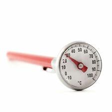 Einstichthermometer Fleischthermometer Bratenthermometer Analog Clip Thermometer