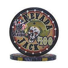 Fiches Ceramica Nevada Jack 10 gr. Valore 100 dollari