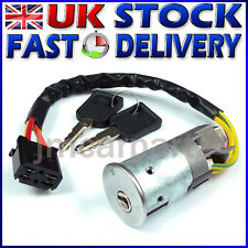 Ignition Switch Lock Barrel & Keys compatible with RENAULT CLIO MK2 1998 - 2005