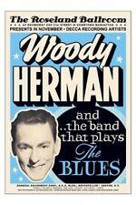 Woody Herman Roseland Ballroom New York Jazz Poster Nice