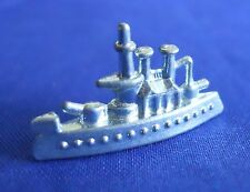 Monopoly Battleship Silver Replacement Game Token Piece Part Mover