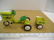 Hallmark Kiddie Car Classics 1961 Yellow Murray Tractor with Trailer - NIB