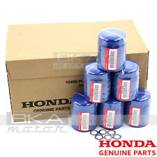 GENUINE ACURA HONDA OEM 15400-PLM-A02 ENGINE OIL FILTER + DRAIN WASHERS SET OF 6