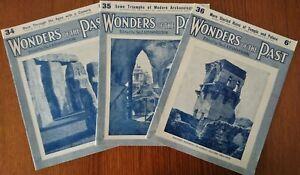 Wonders of the Past. Magazines 34,35 & 36 by Sir JA Hammerton 1934 Paperback
