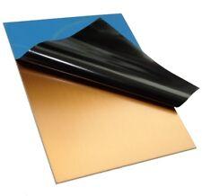 2 plaques planches feuilles en cuivre pour circuit imprimé 100/75/1.5mm FR4