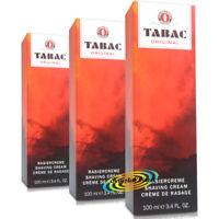 3x Tabac Original Shaving Cream 100ml