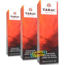 3x Tabac Original Shaving Cream 100ml