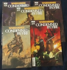 Warhammer Condemned by Fire 2008 1B 2A 3A 4A & 2A Novel (5 of) 2008