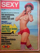Erotik Magazin ★ S E X Y ★ 36 - 4.9. 1971 ~ Liane Herr Gruner Jeep-Wagoneer FKK