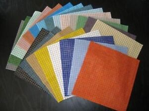 22 Sheet 1cm Hobby/ workshop pack 18502 tile Bargain. 2.5 square meters of Tiles