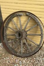 Old Wagon Wheel Journal: 150 Page Lined Journal/Diary/Notebook by Image, Cool