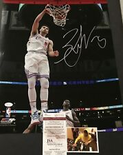 Zach LaVine Chicago Bulls Autographed Signed 16x20 Photo JSA WITNESS COA City