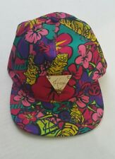 Hater brand floral snapback EUC
